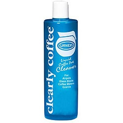 Urnex Brands Inc 12.5-oz bottles Clearly Coffee Liquid Cleaner (Case of 12)