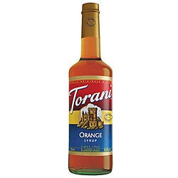 Torani Dairy Friendly Orange Syrup 750ML (Pack of 12)