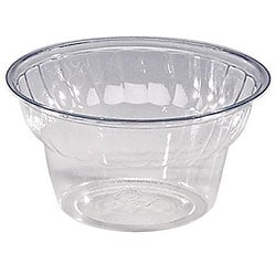 WNA Comet West 5-oz PET Classic Dessert Cups (Case of 1000)