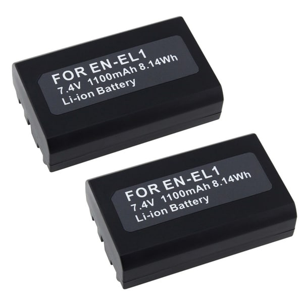 INSTEN Nikon Coolpix EN-EL1 Battery (Pack of 2)