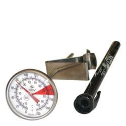 CDN Beverage/Frothing 6.5-inch Stem Thermometer