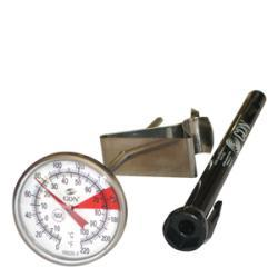 CDN Beverage/Frothing 5-inch Stem Thermometer