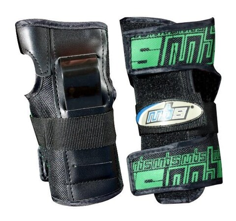 1200D Nylon Outerskin MBS Pro Wrist Guards with Hook and Loop Strap (Size M)