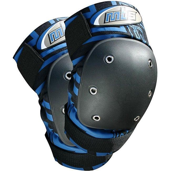 MBS Pro Knee Pads (Size XL) (Blue)