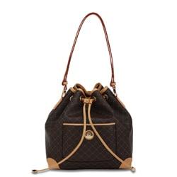 Rioni Signature Shoulder Drawstring Bag