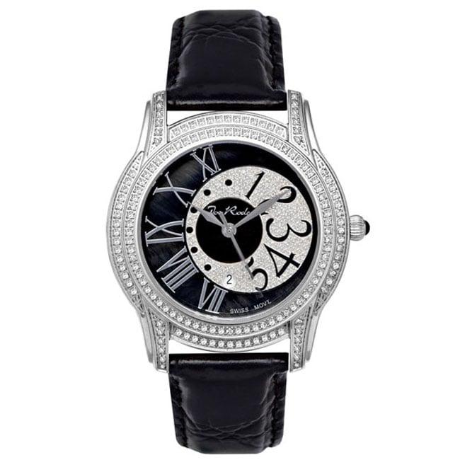 Joe Rodeo Unisex Beverly Steel Diamond Watch