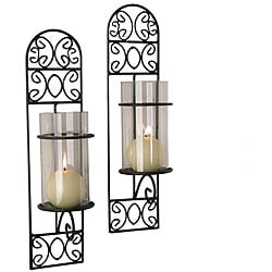 Madeira Iron Wall Sconces (Set of 2)