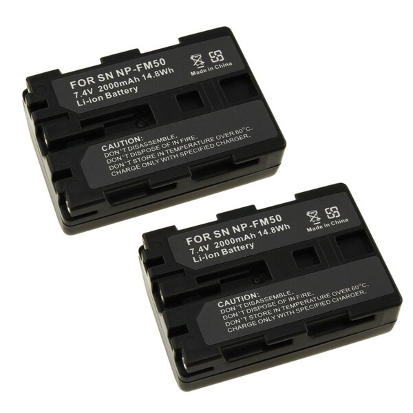 INSTEN Sony 202370 Two Battery Pack