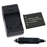 INSTEN Battery and Charger 250378 for Nikon Coolpix S210