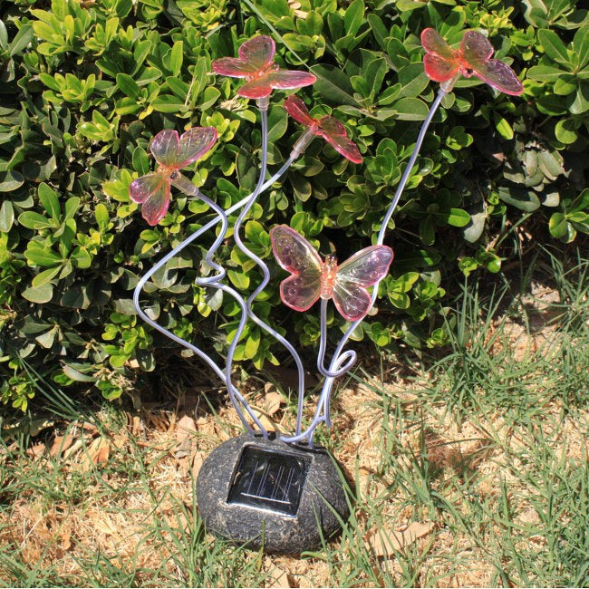 Blinking Butterflies Garden Solar Light (Set of 2)