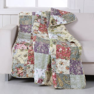 Greenland Home Fashions Blooming Prairie Throw
