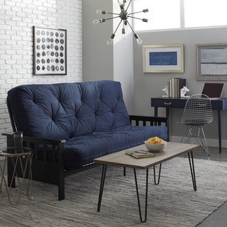 Provo Full Size Mission Style Inner Spring Futon Set Part 75