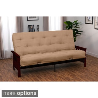 Provo Full-size Mission-style Inner Spring Futon Set