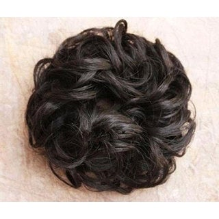 Merrylight Black Wavy Put-on Hair Piece