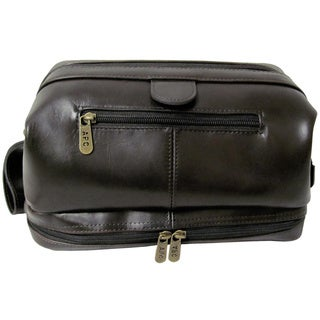 Link to Amerileather Men's Leather Toiletry Bag Similar Items in Travel Accessories