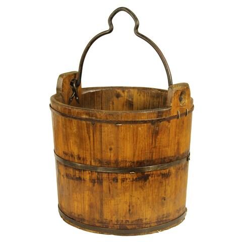 Antique Iron-handle Water Bucket