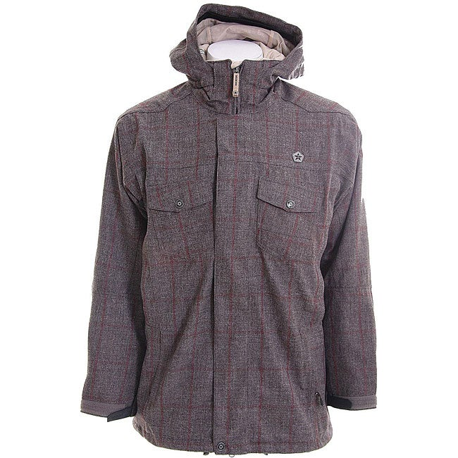 Sessions Halo Men's 2-in-1Java/ Red Snowboard Jacket