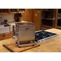 Weston 44-pound Stainless Steel Manual Meat Mixer