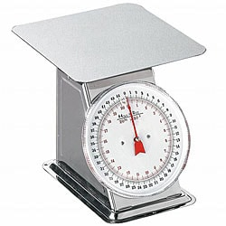 Weston Flat Top 44-pound Dial Scale