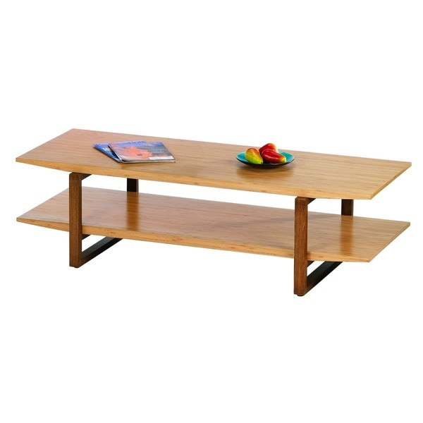 Breeze Bamboo Coffee Table - Breeze Bamboo Coffee Table - Free Shipping Today - Overstock.com