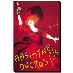 Thumbnail 3, 'Absinthe Ducros Fils' Canvas Art. Changes active main hero.