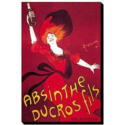 Thumbnail 1, 'Absinthe Ducros Fils' Canvas Art.