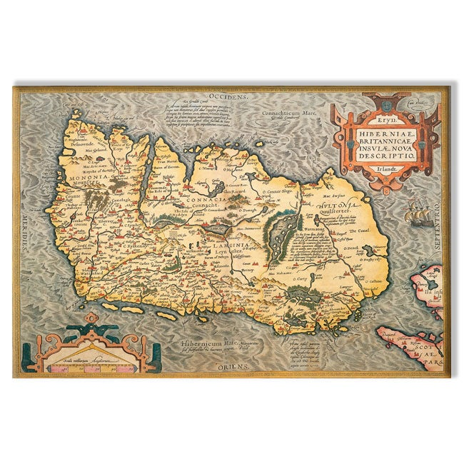 Aurtilious map of ireland canvas art free shipping today aurtilious x27map of gumiabroncs Gallery