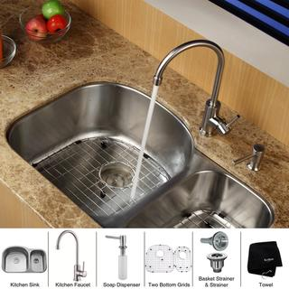 kraus kitchen sinks shop the best brands overstockcom - Kitchen Sink And Faucet Sets