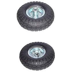 shop four golf cart hand truck ball bearing tires free. Black Bedroom Furniture Sets. Home Design Ideas