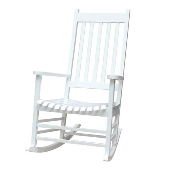 Brilliant Shop Havenside Home Surfside Solid Wood Outdoor Rocking Unemploymentrelief Wooden Chair Designs For Living Room Unemploymentrelieforg