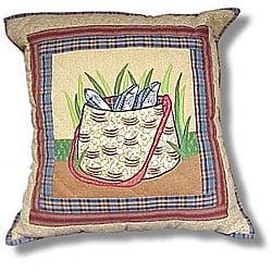 Gone Fishing Throw Pillows (Set of 2)