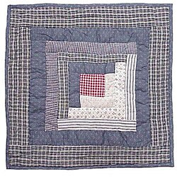 Sail Log Cabin 16-inch Throw Pillow (Set of 2)