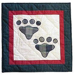 Fido Paw Throw Pillows (Set of 2)