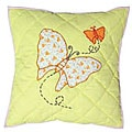 Butterfly 16-inch Throw Pillows (Set of 2)