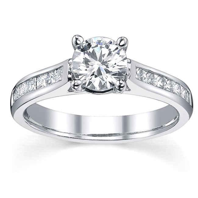 14k Gold 7/8ct TDW Certified Diamond Engagement Ring (I, SI1-SI3)