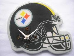 Pittsburgh Steelers Helmet Clock - Thumbnail 1