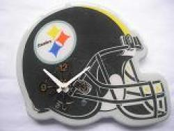 Pittsburgh Steelers Helmet Clock - Thumbnail 2
