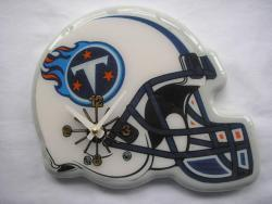 Collectible Memorabilia Tennessee Titans Football Helmet Clock