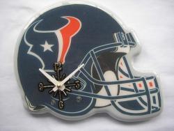 Houston Texans Helmet Clock - Thumbnail 1