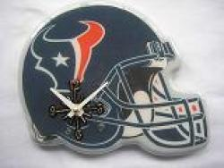 Houston Texans Helmet Clock