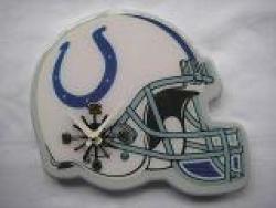 Indianapolis Colts Helmet Clock - Thumbnail 2