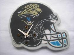 Jacksonville Jaguars Helmet Clock - Thumbnail 1