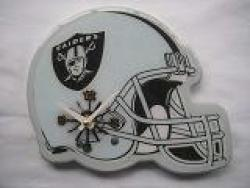 Oakland Raiders Helmet Clock - Thumbnail 2