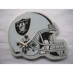 Oakland Raiders Helmet Clock