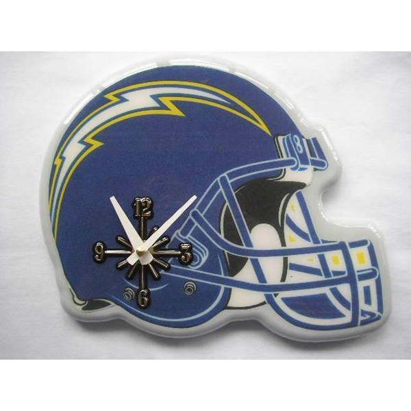 San Diego Chargers Helmet Clock