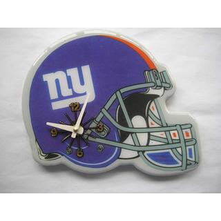 New York Giants Helmet Football-themed Collectible Wall Clock