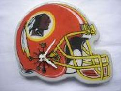 Washington Redskins Helmet Clock