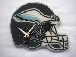 Philadelphia Eagles Helmet Clock - Thumbnail 1