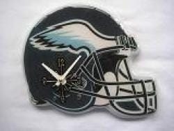 Philadelphia Eagles Helmet Clock - Thumbnail 2
