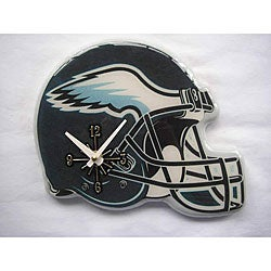 Philadelphia Eagles Helmet Clock